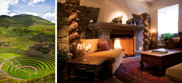 Visit The Sacred Valley, staying in the heart of Cusco at Inkaterra La Casona
