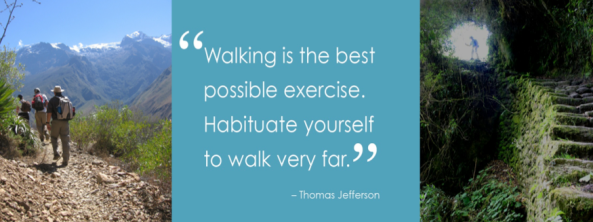 Walking is the best possible exercise