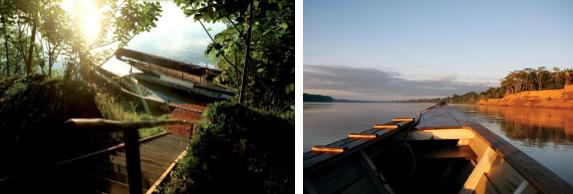 A boat ride along the Peruvian Amazon