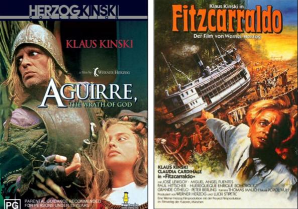 Aguirre, Wrath of God (1972) and Fitzcarraldo (1982)