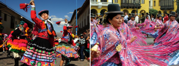 Dancing the streets of Lima